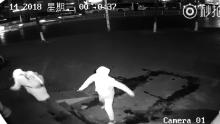 Watch a robbery go horribly awry