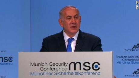 Iran  The Munich Security Conference wraps up Sunday with the following highlighted speakers. International desk in Atlanta monitors and alerts key lines.  Conference expected to begin at approximately 4aET. Signal and speaker details below:  Live signal: RX  581 Source: AFP TV  Outlooked Speakers: 4aET: Benjamin Netanyahu, Israeli Prime Minister.  445aET: John F Kerry, US Fmr Sec of State.  615aET: Mohammed Javad Zarif, Iranian Foreign Minister.  640aET: Adel bin Ahmed Al-Jubeir, Saudi Foreign Minister.