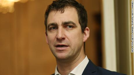LONDON, ENGLAND - FEBRUARY 22: Brendan Cox attends a reception to launch The Great Get Together at Clarence House on February 22, 2017 in London, England. The Great Get Together will take place over the weekend of June 17 and 18 and is a collaboration between The Big Lunch and the Jo Cox Foundation. Tens of thousands of community get-togethers are being planned across the country, which will include street parties, picnics, barbecues and bake-off competitions. (Photo by Jonathan Brady - WPA Pool / Getty Images)