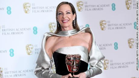 Allison Janney, who won for her supporting role in 'I, Tonya' at the BAFTA awards.
