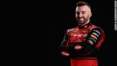 Monster Energy NASCAR Cup Series driver, Austin Dillon, poses for a photo at Charlotte Convention Center on January 23, 2018 in Charlotte, North Carolina.