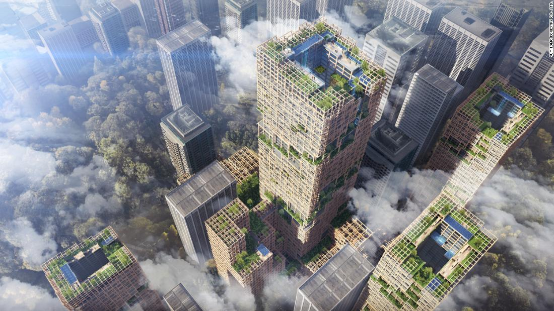 Tokyo to build world's tallest timber tower