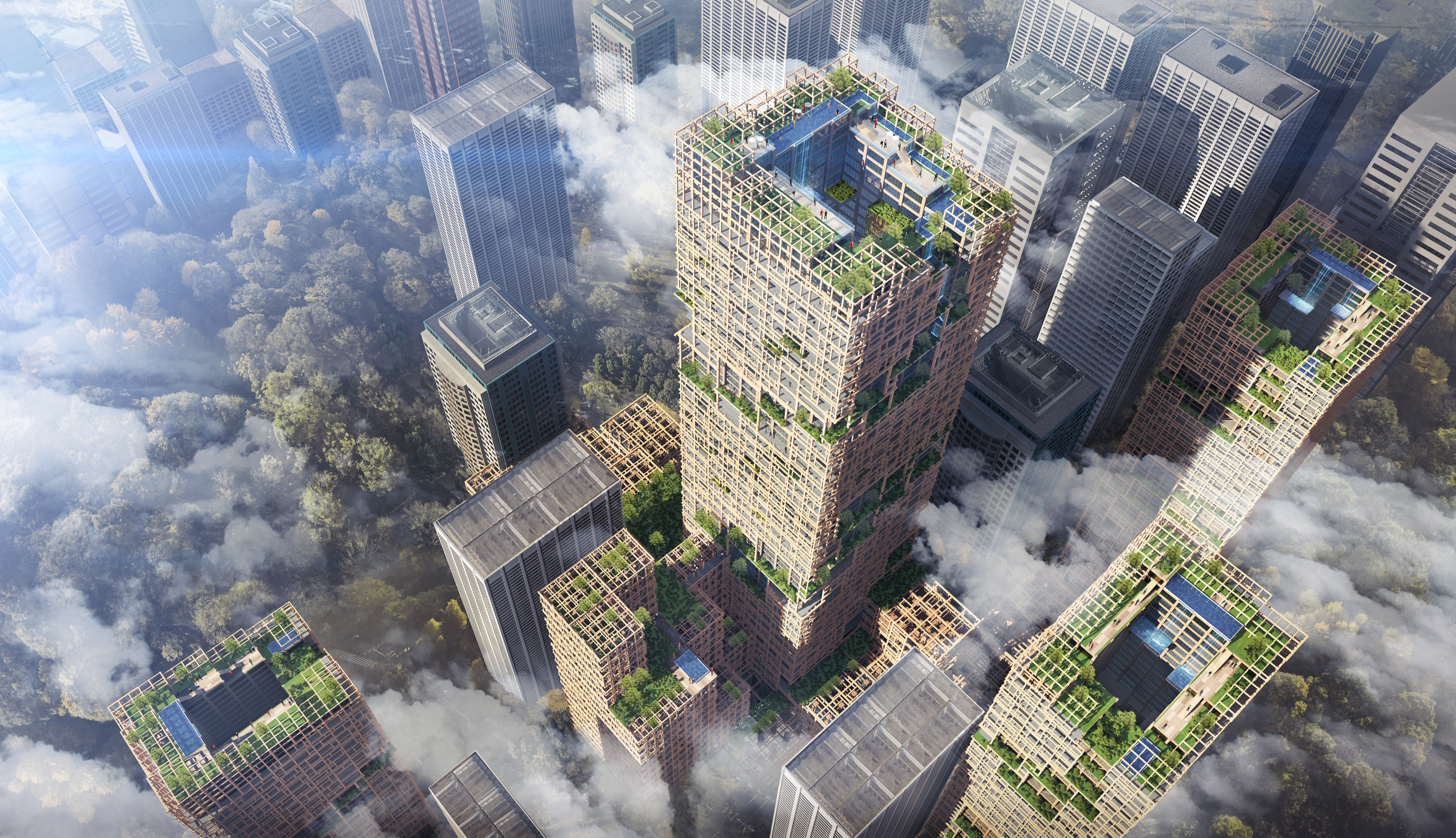 Tokyo to build world's tallest timber tower - CNN Style