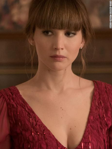 Jennifer Lawrence in 'Red Sparrow (Photo Credit: Murray Close)