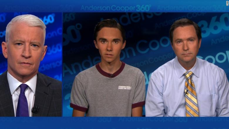 Reddit conspiracy theory says David Hogg is a 26-year-old felon