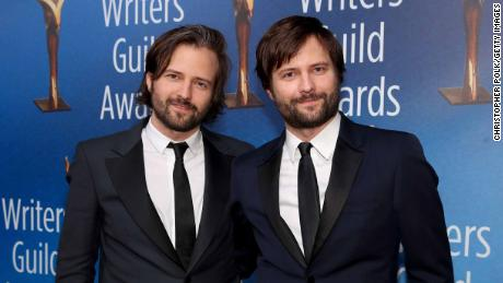 BEVERLY HILLS, CA - FEBRUARY 11:  Matt Duffer (L) and Ross Duffer attend the 2018 Writers Guild Awards L.A. Ceremony at The Beverly Hilton Hotel on February 11, 2018 in Beverly Hills, California.  (Photo by Christopher Polk/Getty Images)