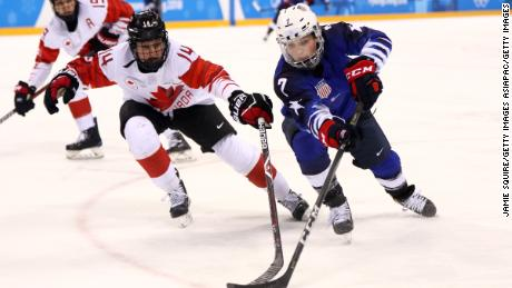 Germany upsets Canada in Olympic hockey semifinals