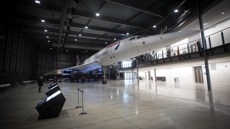 Interior British Airways Concorde