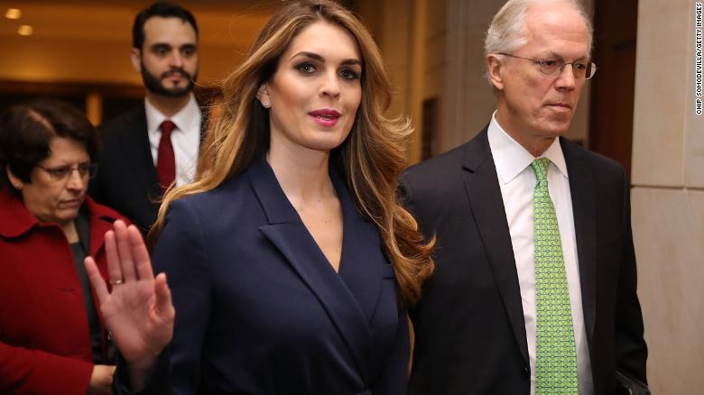 Loyal Hope Hicks RESIGNS as Donald Trump loses his 18th key official