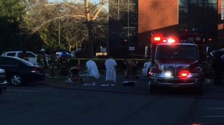 11 people sickened after hazmat incident at Arlington, Va., base