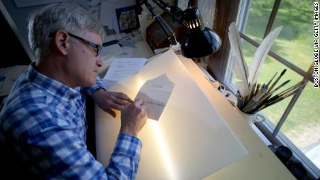 Rick Paulus, the former chief calligrapher at the White House.