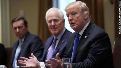'Surreal' Trump meeting on guns left Republicans reeling, Democrats optimistic