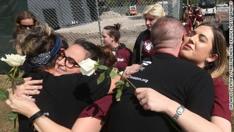 Parkland families meet Pulse shooting survivors