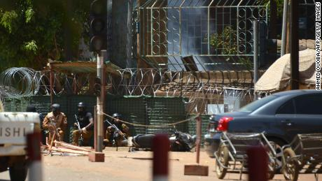Quartet who attacked French embassy in Burkina Faso killed