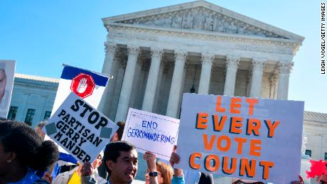 Supreme Court allows severe partisan gerrymandering to continue