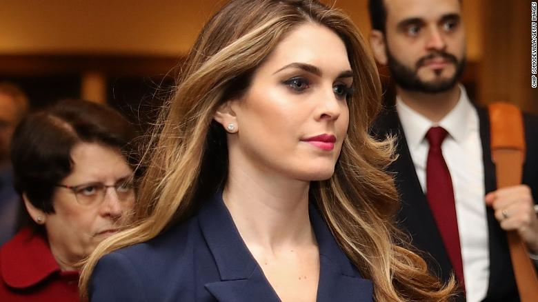 White House directs Hope Hicks not to comply with subpoena