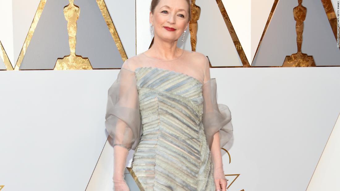 The real 'Phantom Thread': Lesley Manville's dress fitting for the Oscars  - CNN Style