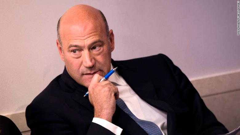 Gary Cohn to resign as WH economic adviser