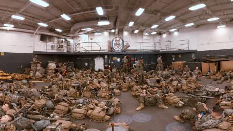 This is life on an active US Navy vessel