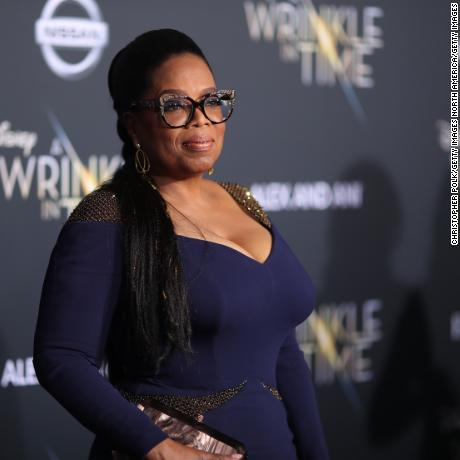 "Oprah Winfrey attends the premiere of Disney's ""A Wrinkle In Time"" at the El Capitan Theatre on February 26, 2018 in Los Angeles, California.  (Photo by Christopher Polk/Getty Images)"