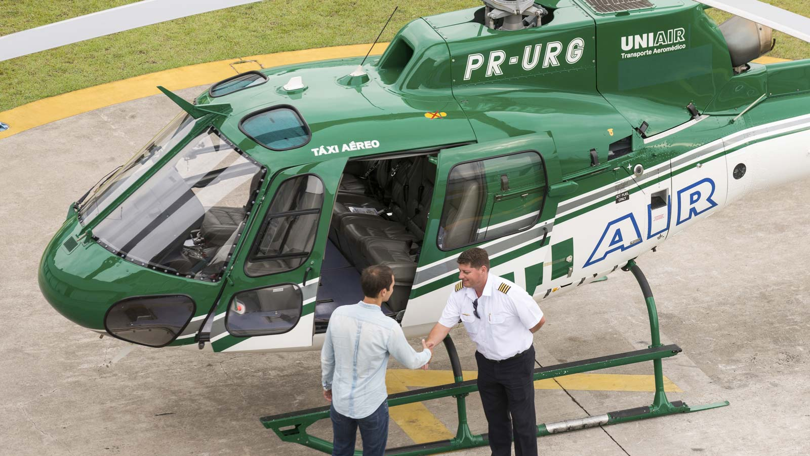 Private helicopters: See how the 1% flies in true luxury