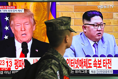 Kim talks: U.S. signals hardline stance as it scrambles to define position