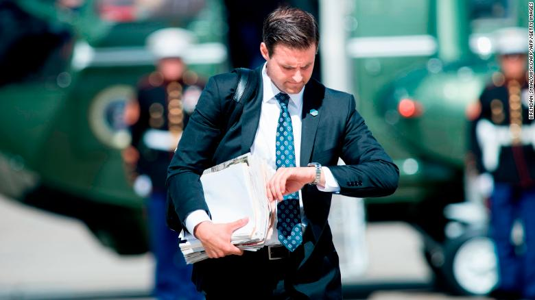 Trump aide John McEntee escorted out of White House, moves to campaign