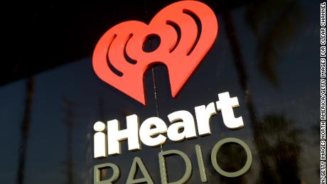 BURBANK, CA - MAY 16:  iHeartRadio logo is seen during the Coldplay iHeartRadio Album Release Party at the iHeartRadio Theater Los Angeles on May 16, 2014 in Burbank, California. Streaming Live on Yahoo Screen and Clear Channel stations across the country.  (Photo by Jason Kempin/Getty Images for Clear Channel)