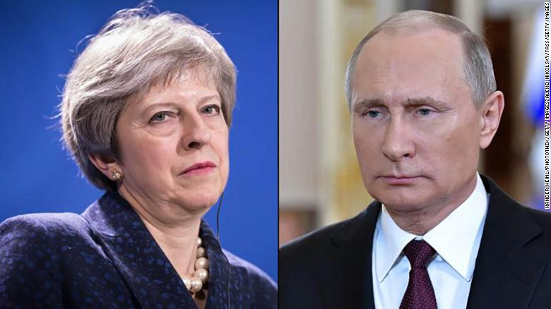 United Kingdom expelling 23 Russian diplomats after poisoning of ex-spy in England