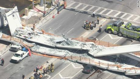 The bridge that just collapsed in Miami was designed to withstand a Category 5 hurricane