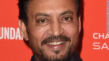 PARK CITY, UT - JANUARY 23:  Actor Irrfan Khan attends the 'Puzzle' Premiere at Eccles Center Theatre during the 2018 Sundance Film Festival on January 23, 2018 in Park City, Utah.  (Photo by C Flanigan/FilmMagic)