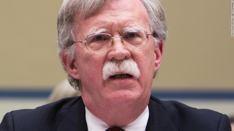Bolton on Fox News WH leaks are unacceptable