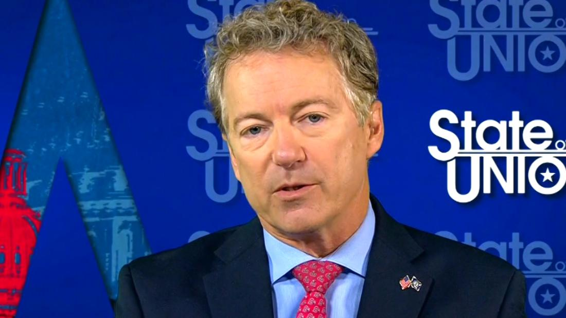 Rand Paul won't say if he will hold up spending bill