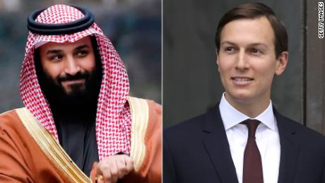 As Cohen rivets Washington, White House announces Kushner met with Saudi crown prince