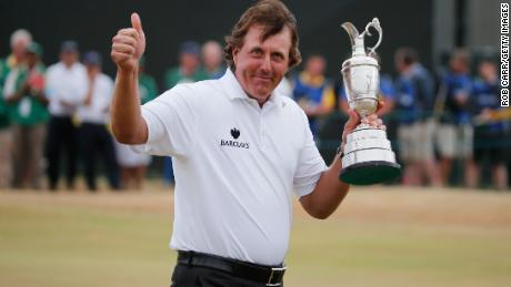 The British Open was thought to be out of Mickelson's reach because of the style of golf needed to win.