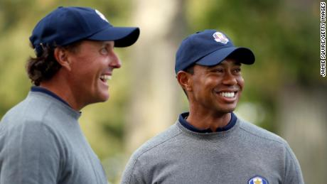 Woods and Mickelson have become closer as age and experience mellowed them.