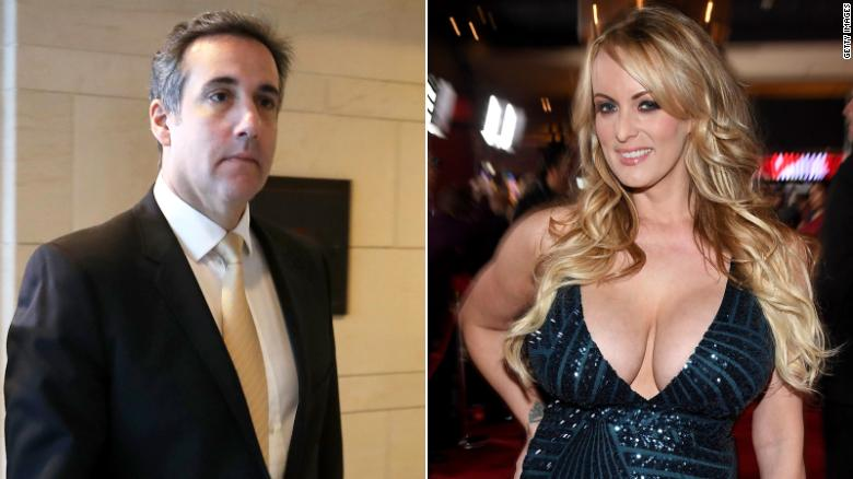 Trump Lawyer Cohen Says He Will Take 5th in Stormy Daniels Case