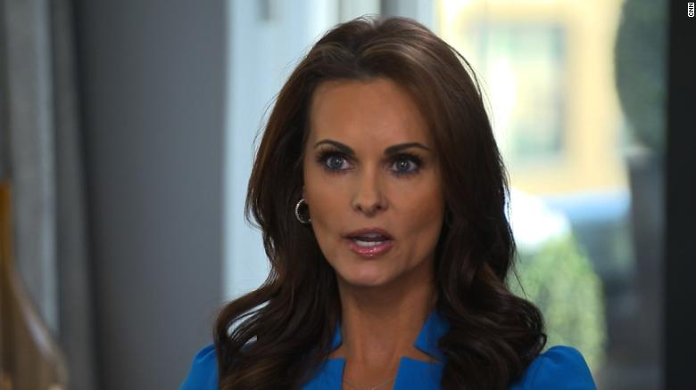 Former Playmate says Trump tried to pay her after they were 'intimate'