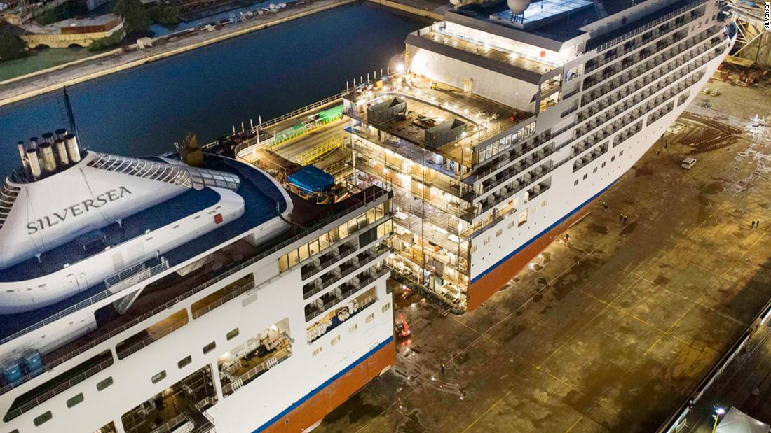 Silver Spirit cut in half: Why do this to a cruise ship