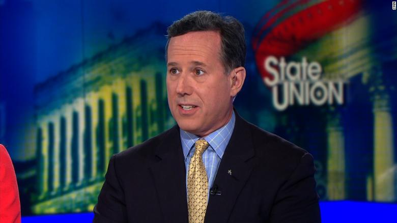 Rick Santorum: Students rallying for gun control should learn CPR instead
