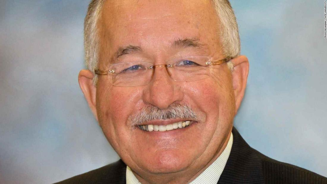 William Strampel, former dean of Michigan State University's College of Osteopathic Medicine