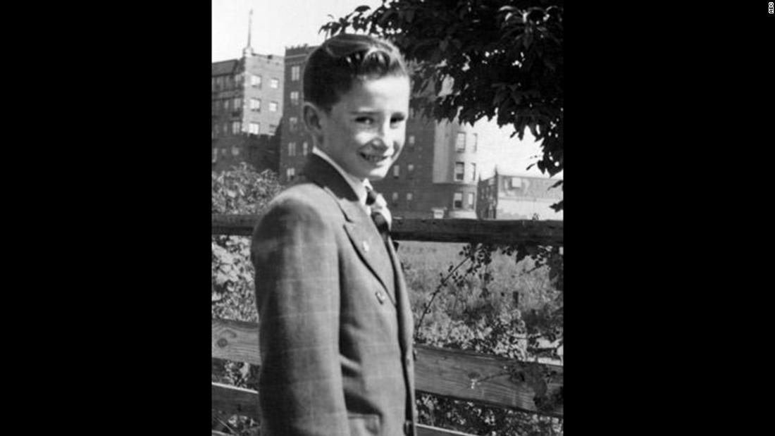 "Regis Philbin as a young boy. He says his parents -- a first-generation Irish-American father and an Italian-American mother -- didn't have any idea about his showbiz dreams. ""I used to stay in this house, 6 years old, tune in WNEW, which was the key radio station in New York City,"" he told Katie Couric. ""And every night at 9:30, Bing Crosby would have a half hour of songs."""