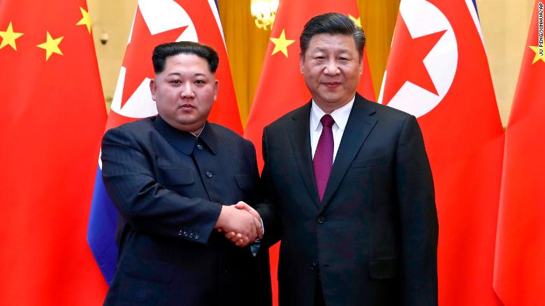 Kim Jong Un Xi Jinping hold talks in Beijing