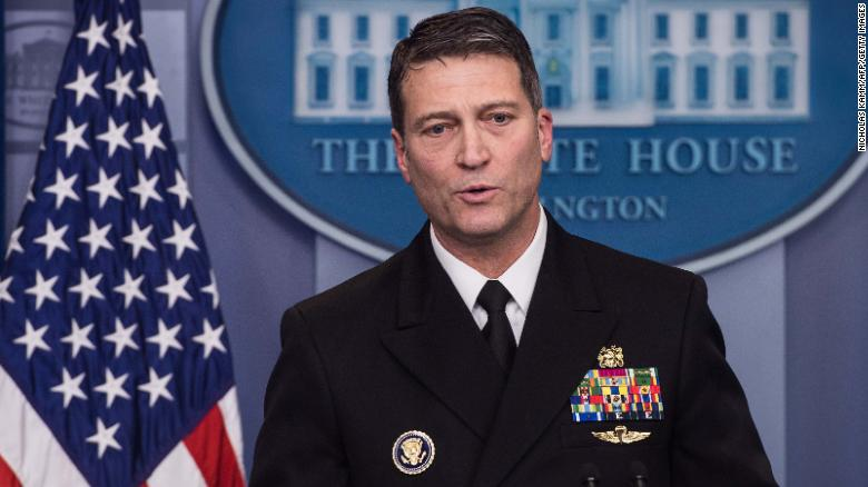 Ronny Jackson's appointment in jeopardy