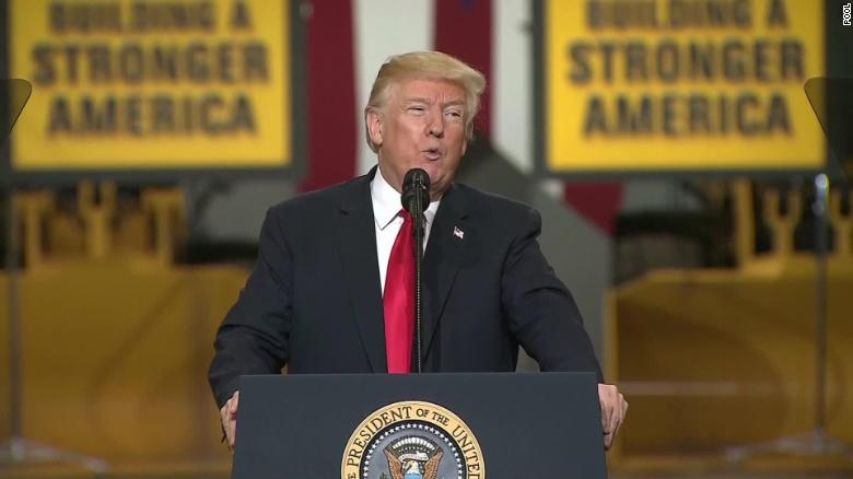 President Trump comes to West Virginia to talk taxes