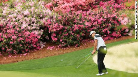 Masters 2018: Tiger Woods survives the cut despite scrappy second round