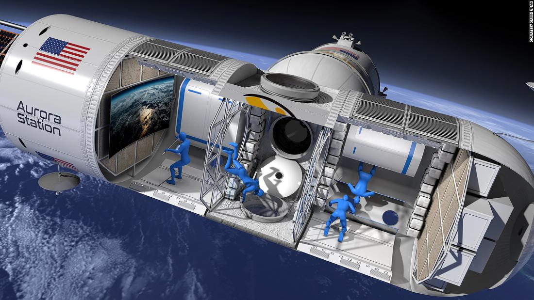 See plans for the first luxury hotel in space