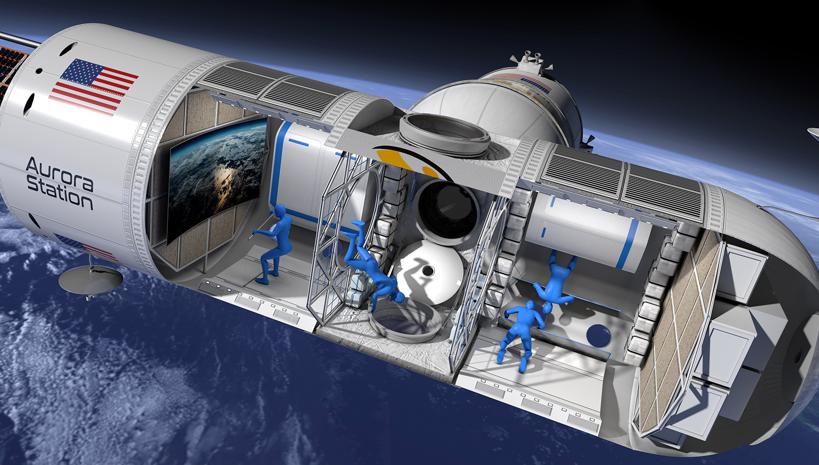 Look inside Aurora Station, the first luxury space hotel