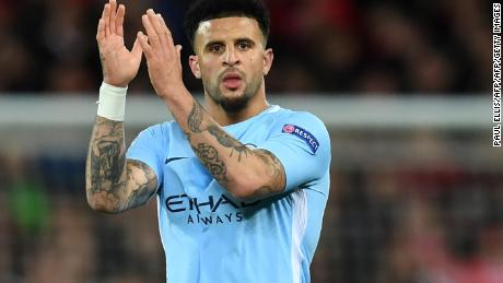 Kyle Walker has been in brilliant form this season, a flying winger one minute, the last line of defense the next.