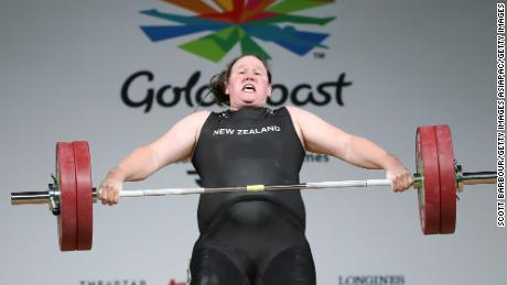 She looked set to move into the clean and jerk element of competition with an insurmountable lead...